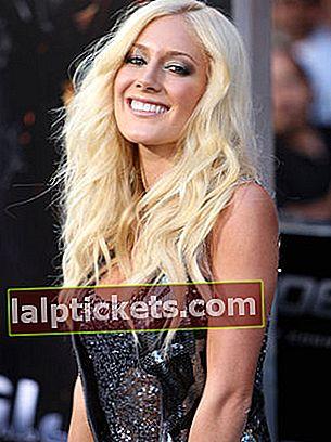 Heidi Montag: Bio, taille, poids, âge, mesures